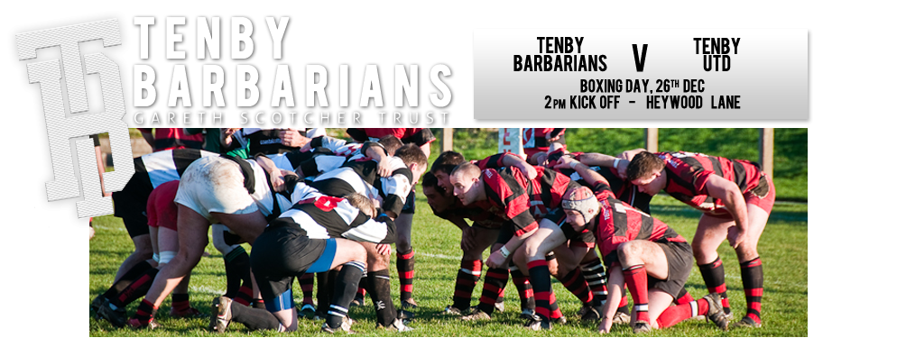 Tenby Barbarians Boxing Day Rugby